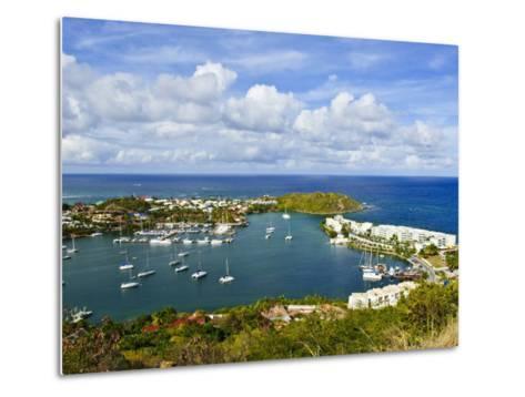 Oyster Pond, St. Martin, Netherlands Antilles, Caribbean-Michael DeFreitas-Metal Print