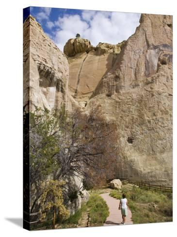 El Morro National Monument, New Mexico, United States of America, North America-Michael DeFreitas-Stretched Canvas Print