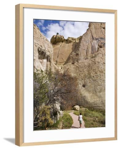 El Morro National Monument, New Mexico, United States of America, North America-Michael DeFreitas-Framed Art Print