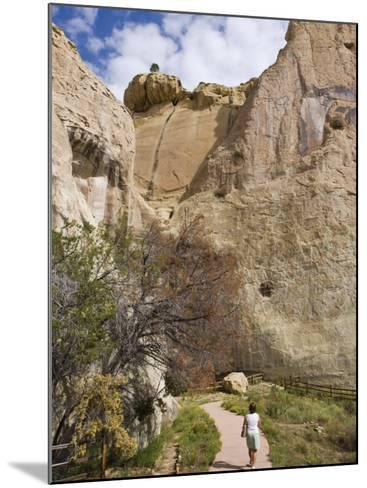 El Morro National Monument, New Mexico, United States of America, North America-Michael DeFreitas-Mounted Photographic Print