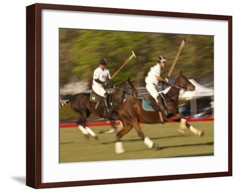 Polo, Houston, Texas, United States of America, North America-Michael DeFreitas-Framed Art Print
