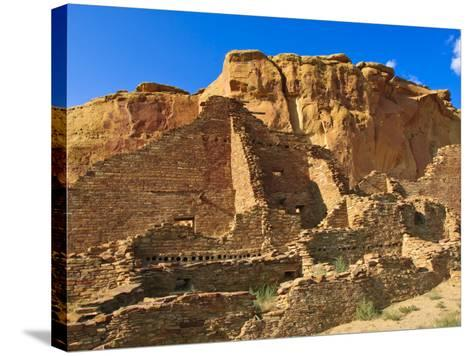 Pueblo Bonito Chaco Culture National Historical Park Scenery, New Mexico-Michael DeFreitas-Stretched Canvas Print