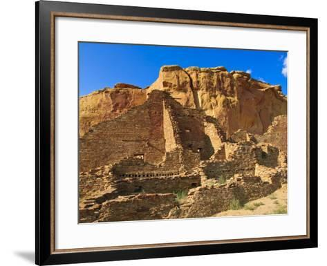 Pueblo Bonito Chaco Culture National Historical Park Scenery, New Mexico-Michael DeFreitas-Framed Art Print