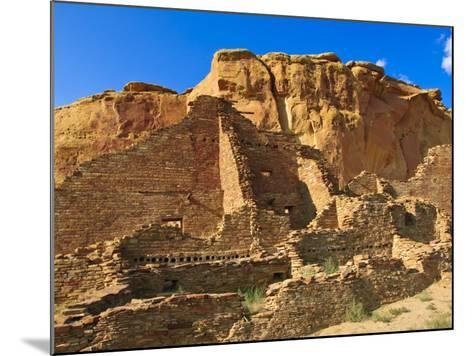 Pueblo Bonito Chaco Culture National Historical Park Scenery, New Mexico-Michael DeFreitas-Mounted Photographic Print