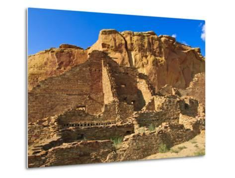 Pueblo Bonito Chaco Culture National Historical Park Scenery, New Mexico-Michael DeFreitas-Metal Print