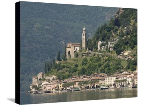 Morcote, Lake Lugano, Switzerland, Europe-James Emmerson-Stretched Canvas Print