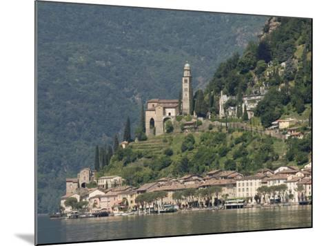Morcote, Lake Lugano, Switzerland, Europe-James Emmerson-Mounted Photographic Print