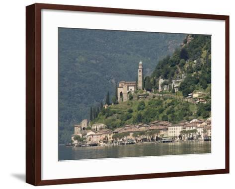 Morcote, Lake Lugano, Switzerland, Europe-James Emmerson-Framed Art Print