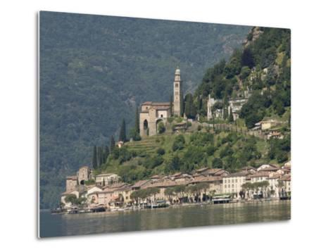 Morcote, Lake Lugano, Switzerland, Europe-James Emmerson-Metal Print