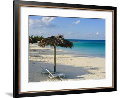 Beach, Cat Island, the Bahamas, West Indies, Central America-Michael DeFreitas-Framed Art Print