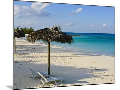 Beach, Cat Island, the Bahamas, West Indies, Central America-Michael DeFreitas-Mounted Photographic Print