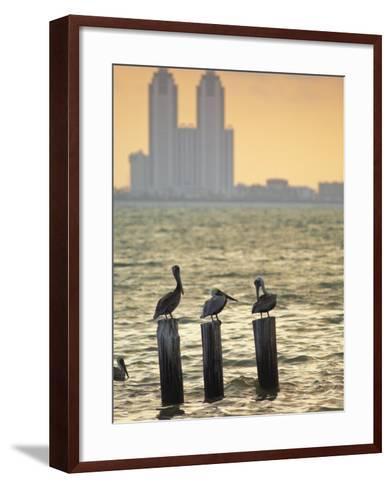 San Padre Island, Texas, United States of America, North America-Michael DeFreitas-Framed Art Print