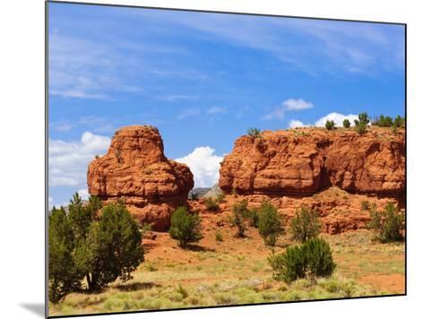 Sandstone Scenery around Jemez Springs, New Mexico, United States of America, North America-Michael DeFreitas-Mounted Photographic Print