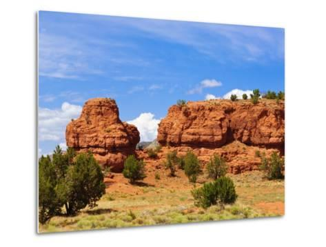 Sandstone Scenery around Jemez Springs, New Mexico, United States of America, North America-Michael DeFreitas-Metal Print