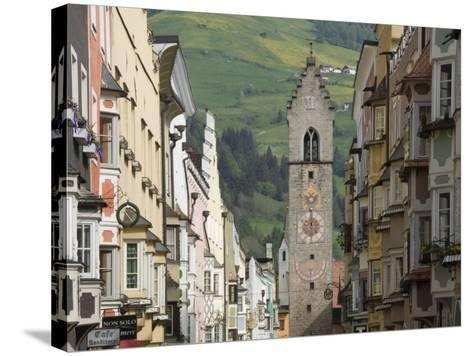 The Old Centre, Vipiteno, on the Brenner Route, Italy, Europe-James Emmerson-Stretched Canvas Print