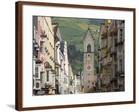 The Old Centre, Vipiteno, on the Brenner Route, Italy, Europe-James Emmerson-Framed Art Print