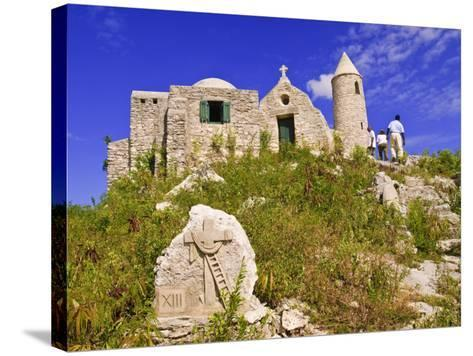 Mount Alvernia Monastery, Cat Island, the Bahamas, West Indies, Central America-Michael DeFreitas-Stretched Canvas Print