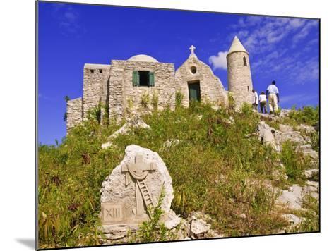 Mount Alvernia Monastery, Cat Island, the Bahamas, West Indies, Central America-Michael DeFreitas-Mounted Photographic Print
