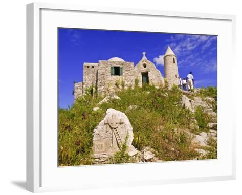 Mount Alvernia Monastery, Cat Island, the Bahamas, West Indies, Central America-Michael DeFreitas-Framed Art Print