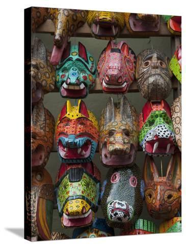 Chichicastenango Market, Guatemala, Central America-Sergio Pitamitz-Stretched Canvas Print