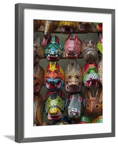 Chichicastenango Market, Guatemala, Central America-Sergio Pitamitz-Framed Art Print