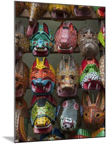 Chichicastenango Market, Guatemala, Central America-Sergio Pitamitz-Mounted Photographic Print