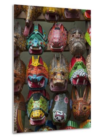 Chichicastenango Market, Guatemala, Central America-Sergio Pitamitz-Metal Print
