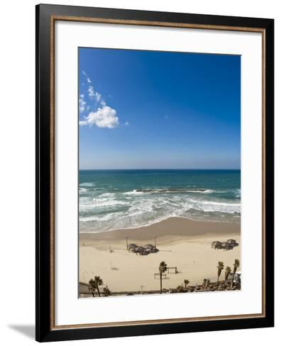 Tel Aviv Beach, Israel, Middle East-Michael DeFreitas-Framed Art Print
