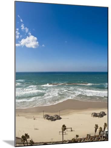 Tel Aviv Beach, Israel, Middle East-Michael DeFreitas-Mounted Photographic Print