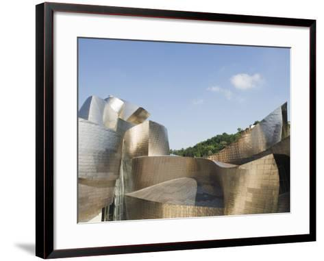 The Guggenheim, Designed by Canadian-American Architect Frank Gehry, Built by Ferrovial-Christian Kober-Framed Art Print