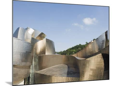 The Guggenheim, Designed by Canadian-American Architect Frank Gehry, Built by Ferrovial-Christian Kober-Mounted Photographic Print