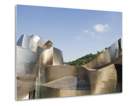 The Guggenheim, Designed by Canadian-American Architect Frank Gehry, Built by Ferrovial-Christian Kober-Metal Print