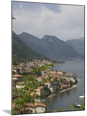 Lezzeno, Lake Como, Italy, Europe-James Emmerson-Mounted Photographic Print
