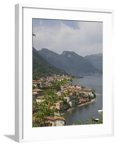 Lezzeno, Lake Como, Italy, Europe-James Emmerson-Framed Art Print