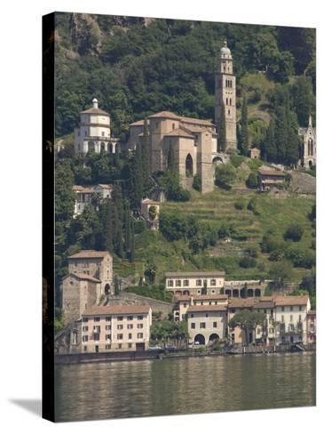 Morcote, Lake Lugano, Switzerland, Europe-James Emmerson-Stretched Canvas Print