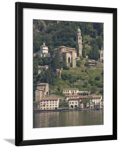 Morcote, Lake Lugano, Switzerland, Europe-James Emmerson-Framed Art Print