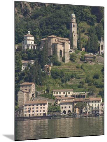 Morcote, Lake Lugano, Switzerland, Europe-James Emmerson-Mounted Photographic Print