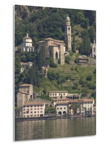 Morcote, Lake Lugano, Switzerland, Europe-James Emmerson-Metal Print