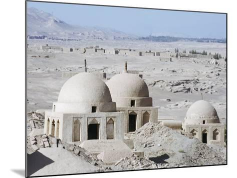 Ruined City of Jiaohe, Turpan on the Silk Route, Xinjiang Province-Christian Kober-Mounted Photographic Print