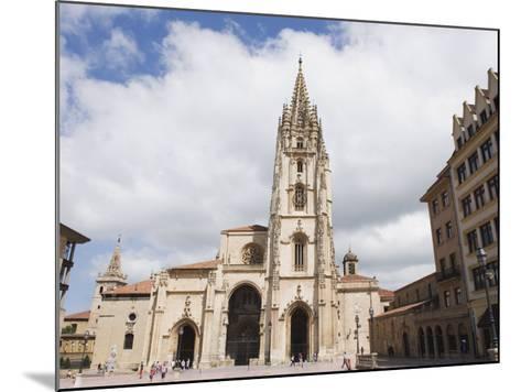 San Salvador Cathedral, on Plaza De Alfonso El Casto, Oviedo, Asturias, Spain, Europe-Christian Kober-Mounted Photographic Print