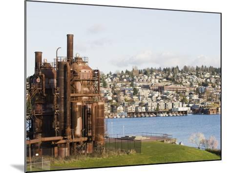 Gas Works Park, Lake Union, Seattle, Washington State, United States of America, North America-Christian Kober-Mounted Photographic Print