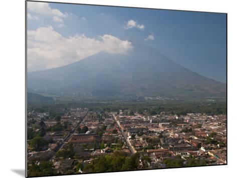 View of Antigua and Volcan De Agua, Guatemala, Central America-Sergio Pitamitz-Mounted Photographic Print