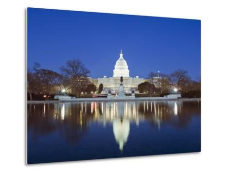 The Capitol Building, Capitol Hill, Washington D.C., United States of America, North America-Christian Kober-Metal Print