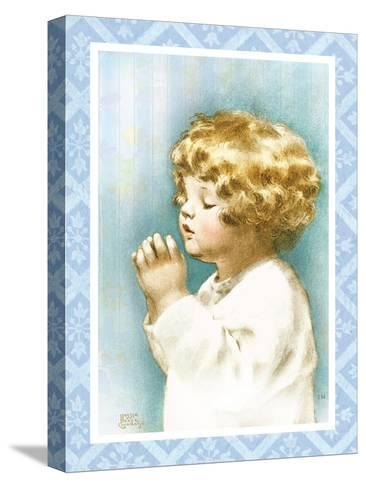 God Bless Mama and Papa-Bessie Pease Gutmann-Stretched Canvas Print