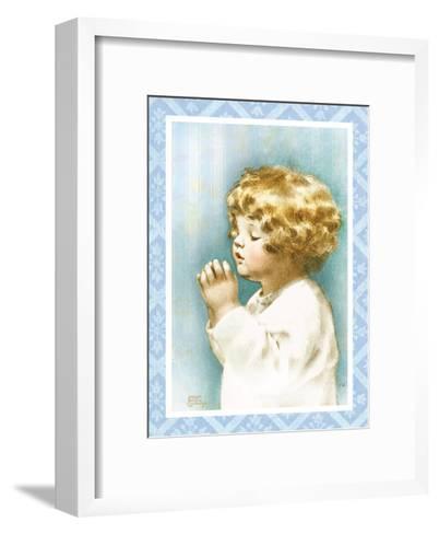 God Bless Mama and Papa-Bessie Pease Gutmann-Framed Art Print