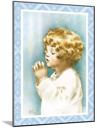 God Bless Mama and Papa-Bessie Pease Gutmann-Mounted Giclee Print