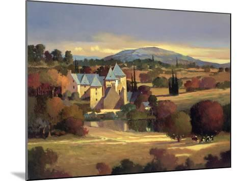 Lazy Evening, St. Genies-Max Hayslette-Mounted Premium Giclee Print