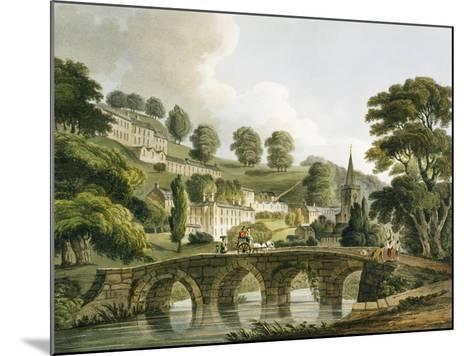Bradford Old Bridge, Print Series, 1806-John Claude Nattes-Mounted Giclee Print