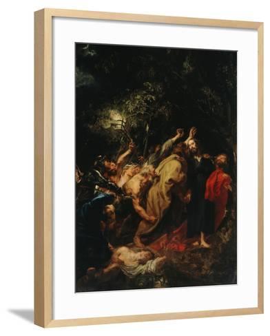 Seizure of Christ-Sir Anthony Van Dyck-Framed Art Print