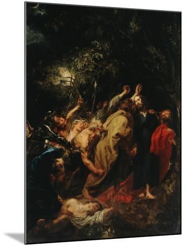 Seizure of Christ-Sir Anthony Van Dyck-Mounted Giclee Print